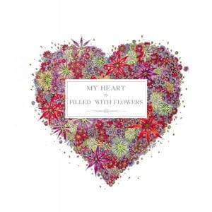 Doodleicious Fronts – My heart is filled with flowers