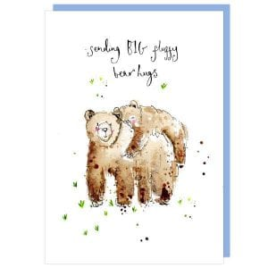 Louise Mulgrew Designs – Fluffy bear hugs