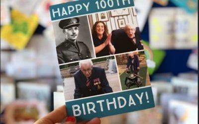 Over 200,000 Birthday Cards Sent To Captain Tom Moore For His 100th Birthday