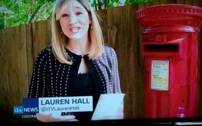 ITV News reflects on the importance of sending cards