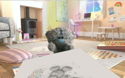 Tatty Teddy lends a paw to Thinking of You Week!