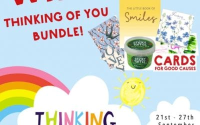 Cards for Good Causes launches dedicated 'Thinking of You' area to mark Thinking of You Week as charities are 'Not Just for Christmas'